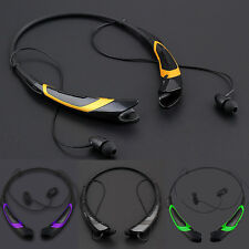 Sport Wireless Bluetooth Headset Headphone Stereo Earphone For iPhone Samsung LG