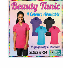 BEAUTY NAILS MASSAGE THERAPY HAIR COLLEGE TUNIC UNIFORM SALON SPA QUALITY