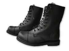 "24H Bauer Jack 8"" GI Type Military Style Combat Boots Black Leather Rothco Shoes"