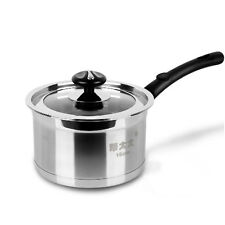 New Stainless Steel NON-STICK Saucepans Kitchen Stockpots Cookware With Lid Pot
