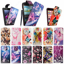 Stylish Printed Leather Magnetic Flip Case Cover For Various Phones+Guard+Stylus