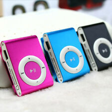 Hot Mini Clip Metal USB MP3 Music Media Player Support 1 - 8GB Micro SD TF