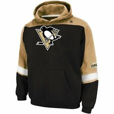 Pittsburgh Penguins MENS Sweatshirt Pullover Hoodie Ice Classic Logo by Majestic