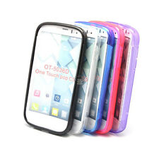 TPU Silicone Case For Alcatel One Touch Pop C5 OT-5036D - Soft S Line Skin Cover