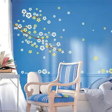 Flower Butterfly Removable Wall Art Stickers Vinyl Decals Mural Home Decor DIY