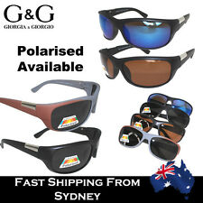 G&G Men Wrap Around Sunglasses Polarised Outdoor Activities Driving Cycling Lens