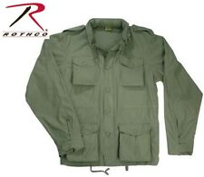 OD Green Vintage Lightweight Military M-65 Field Jacket 8731