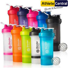 BLENDER BOTTLE PROSTAK 500ML PROTEIN SHAKER CUP BPA FREE SPORTS PRO STAK MIXER