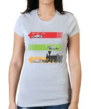 Back To The Future Movie Variation T-Shirt.  Womens Small and XL