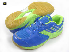Gosen Japan Thunder 550 Pro Blue Lime Green Squash Badminton Indoor Court Shoes
