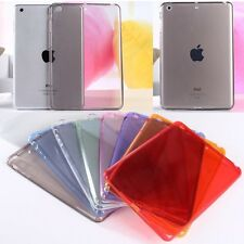 New Ultra Thin Soft TPU Transparent Silicone Clear Case Cover For Apple iPad 6