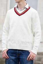 Fifth Doctor Cricket Sweater - Peter Davison's (5th Doctor) Doctor Who Jumper