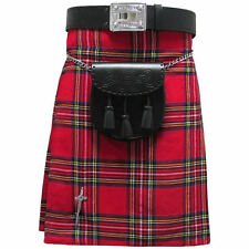 Tartanista Royal Stewart 5 Yard 10 oz Scottish Highland KILT 30-54