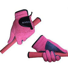 Golf Gloves Women Both Hands Polar Knit Winter Sports Thermal Warm Pink Marcia