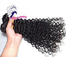 4bundles/400g 100% 6A unprocessed Virgin Indian Hair Extension Weft Kinky Curly