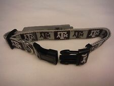 TEXAS A&M AGGIES DOG COLLAR-TEXAS A&M DOG COLLAR- BEST ON EBAY