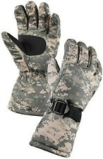 Acu Camouflage Nylon & Thermoblock Windproof Cold Weather Insulated Gloves 4755
