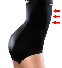 Extra High Waist Seamless Panty Shaper Smooth Shapewear Black Body Shapers M-XL