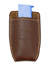 NEW Barsony Brown Leather Magazine Pouch for Bersa, Colt Mini/Pocket 22 25 380