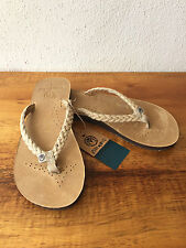 Ocean Minded by Crocs Scorpious Womens Leather Sandals Flip Flops  $44.99