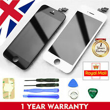 For iPhone 4 4S 5 5S 5C LCD Touch Screen Digitizer Display Assembly Replacement