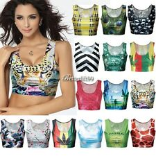New Fashion Sexy Crop Tops Vest Midriff Shirt Blouse Tank Top Cami 15Color BF9