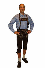 Authentic German Lederhosen Bundhosen Oktoberfest Knickers All Sizes #ENZIAN