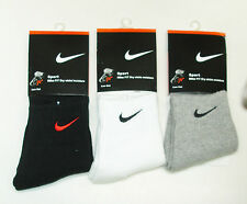 New Size 8 - 10 Mens Sport Cotton Foot Socks AA-1729 3 Color