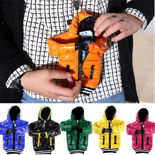 Fashion 2 Sizes Down Jacket Pouch Bag For Mobile Phone iPhone 4 5s 6 Samsung HTC