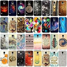 Fashion Various Cool Funny Pattern Phone Case Cover for Samsung Galaxy S4 S5