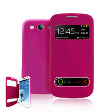 Ultra Slim S-View Flip Battery Cover Case For Samsung Galaxy S3 I9300