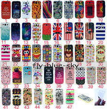 47 Model Fashion Lovely Painting Silicone Soft TPU Back Case Cover For Samsung