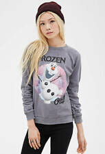 NWT Forever 21 Disney Olaf Frozen Sweatshirt in S - SOLD OUT**