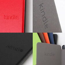 Smart Cover Case Stand PU Leather For Amazon New Kindle Touch 7th gen 2014 model