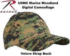 Woodland Digital Camo Marpat Military Low Profile Tactical Hat Adjustable 8184