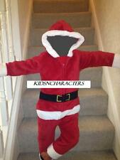 Super Thick Santa Onesie RRP £39.99 Mens Adults Xmas Costume Suit Christmas New