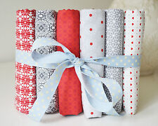 Panduro Fabric Pack Bundle Fat Quarter Scandi Nordic Christmas Quilting Patchwor