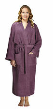 ARUS WOMENS 100% TURKISH COTTON TERRY BATHROBE SPA ROBE