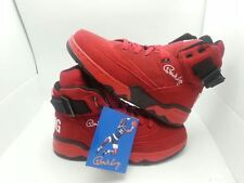 PATRICK EWING 33 HI RED BLACK SUEDE 2014 MENS 1EW90013-601 EWING ATHLETICS OG