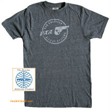 Pan Am t-shirt PAA Pan American Airway 1st Edition Authentic Tri-Blend NEW SALE