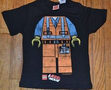 Lego Movie Emmet T-Shirt Boys Tee Brand New with Tags