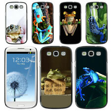 Jungle Frog Wildlife Hard Phone Case Cover for Samsung Galaxy S3 III i9300