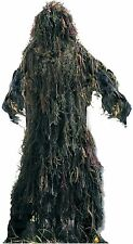 Kids Hunting Camping Woodland Camouflage Lightweight Bushrag GHILLIE SUIT  64128
