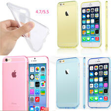 """For Apple iPhone 6 4.7/5.5"""" Ultra Thin Clear Soft Gel Fitted Case Skin Cover"""