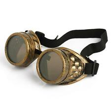 Vintage Victorian Cosplay Welding Punk Gothic Steampunk Glasses Goggles Sunglass