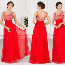 ❤XMAS FINAL DISCOUNT❤ Bridesmaid Formal Evening Prom Ball Gowns Long Party Dress