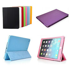 Leather Skin Case Smart Cover Pouch Protector Kickstand For Apple iPad Air 1st
