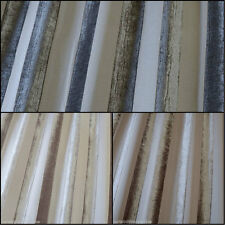 Boheme Stripe Designer Curtain Fabric By Iliv-3 Colours 142-Wide -Free UK Post ☆