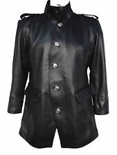 Tall Big Man 2042 Four Season Leather Fashion Blazer Coat Zip Out Quilt Liner x