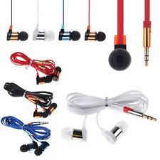 Auriculares Stereo In-Ear para Reproductor Música Móvil MP3 Samsung iPhone PDA
